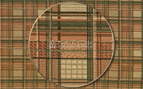 Жаккардовая ткань, гобелен Клетка