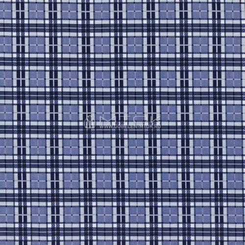 Ткань жаккардовая, гобелен Гжель-шотландка
