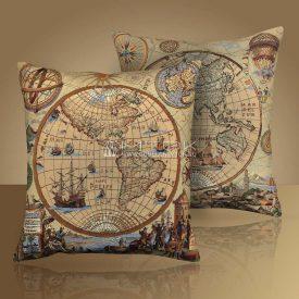 Комплект из 2 чехлов (декоративных наволочек) Запад-Восток