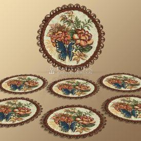 Комплект салфеток из гобелена Китайский фарфор