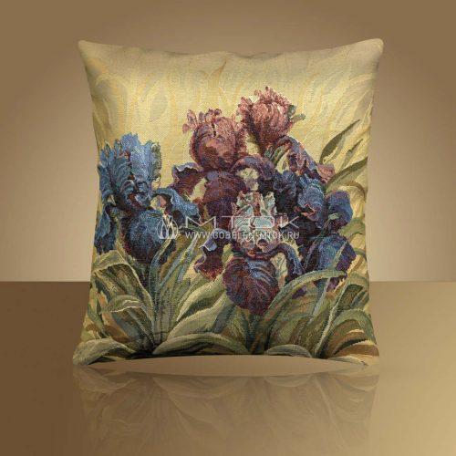 Декоративная наволочка, чехол из гобелена Цветочный аромат