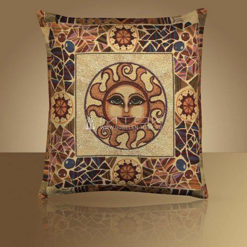 Декоративная наволочка, чехол из гобелена Солнце