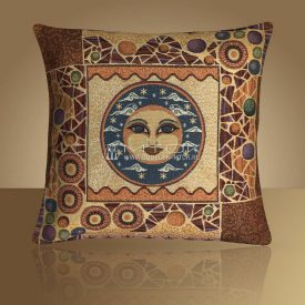 Декоративная наволочка, чехол из гобелена Луна