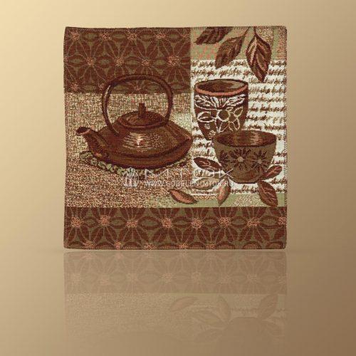 Салфетка из гобелена Чайник