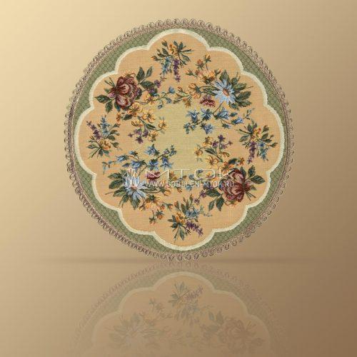Салфетка из гобелена Цветочное кружево (малое)