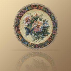 Салфетка из гобелена Вальс цветов