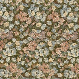 Ткань жаккардовая, гобелен Цветочный нектар