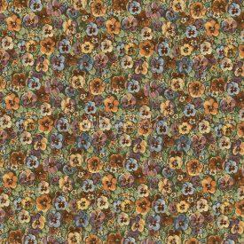 Ткань жаккардовая, гобелен Садовые цветы