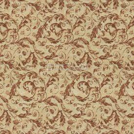 Жаккардовая ткань, гобелен Бежевые листья