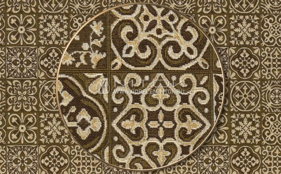 Жаккардовая ткань, гобелен Изразцы
