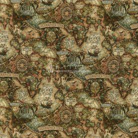 Жаккардовая ткань, гобелен География