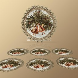 Комплект салфеток из гобелена Настроение рождества