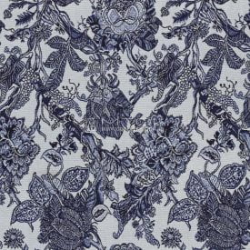 Ткань жаккардовая, гобелен Крупные цветы