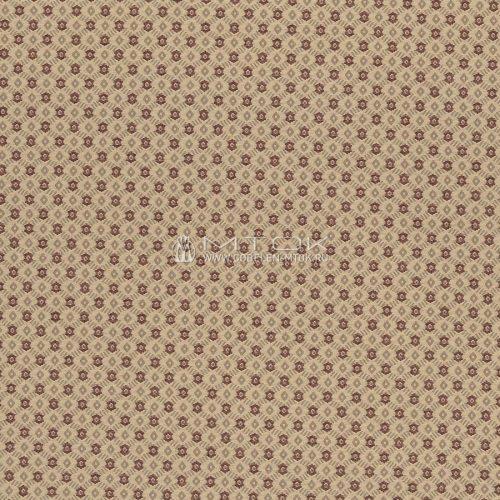 Ткань жаккардовая, гобелен Ромбик коричневый