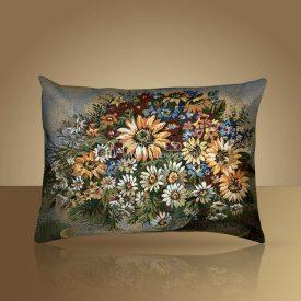 Декоративная наволочка, чехол на подушку Солнечный букет