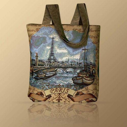 Женская сумка из гобелена Прогулка