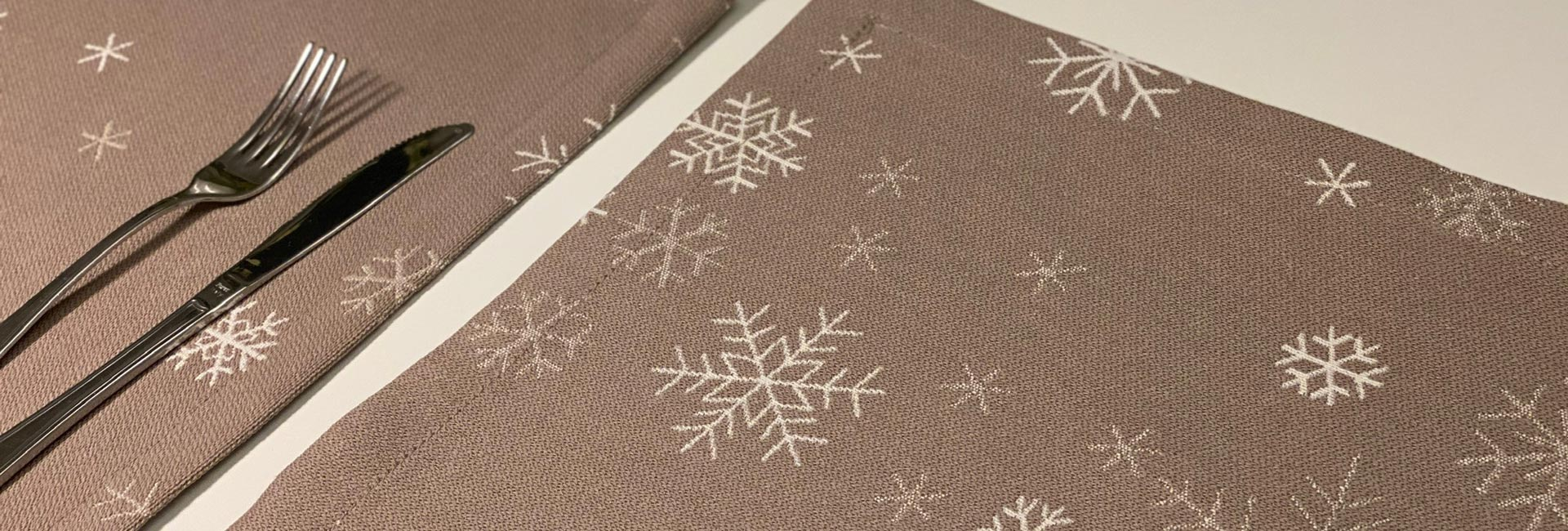 Новогодняя коллекция 2022 Ткань «Снежинки»