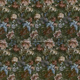 Жаккардовая ткань, гобелен Американский сад