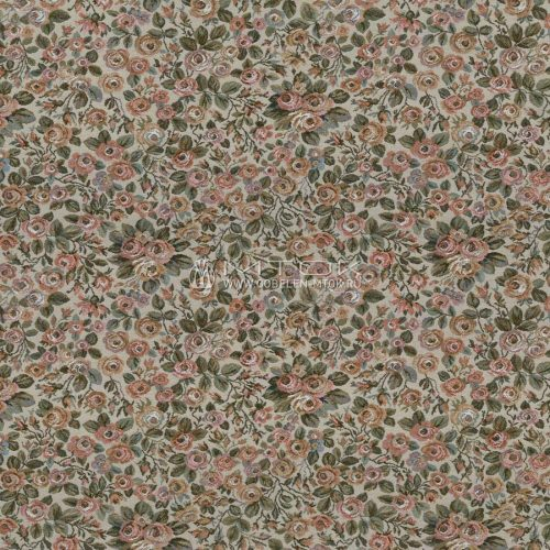 Гобелен, жаккардовая ткань Россыпь роз