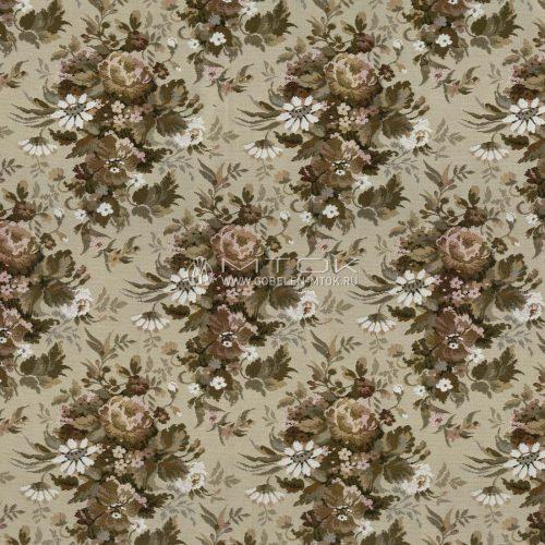 Ткань жаккардовая, гобелен Русское поле