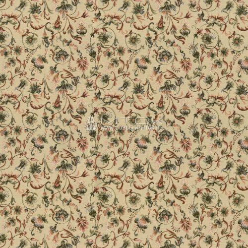 Гобелен, жаккардовая ткань Английские цветы