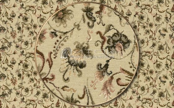 """Раппорт: Ткань жаккардовая """"Английские цветы"""""""