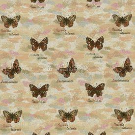 Жаккардовая ткань, гобелен Бабочки