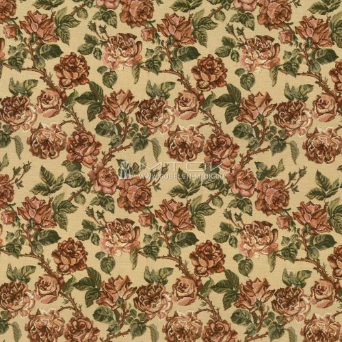 Жаккардовая ткань, гобелен Старинные розы