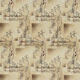 Гобелен, жаккардовая ткань Пифагор