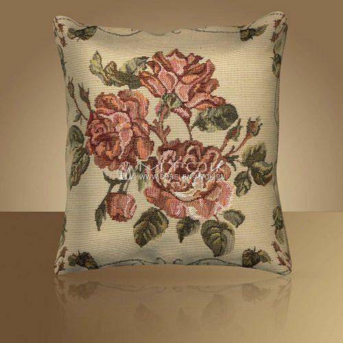 Декоративная наволочка, чехол из гобелена Старинные розы