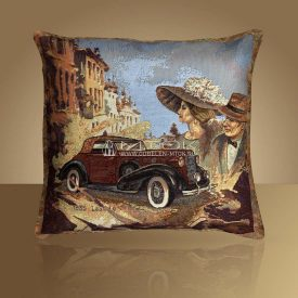 Декоративная наволочка, чехол из гобелена Авто 1935