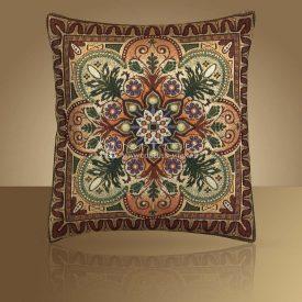 Декоративная наволочка, чехол из гобелена Орнаментальный
