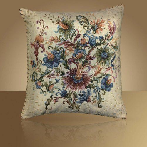 Декоративная наволочка, чехол из гобелена Английские цветы