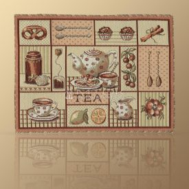 Салфетка из гобелена Чайная