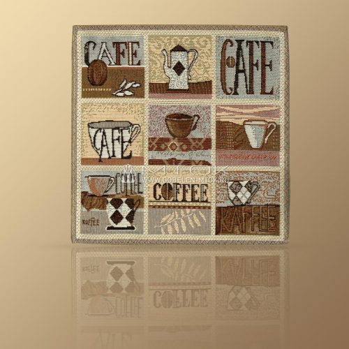 Салфетка из гобелена Кафе