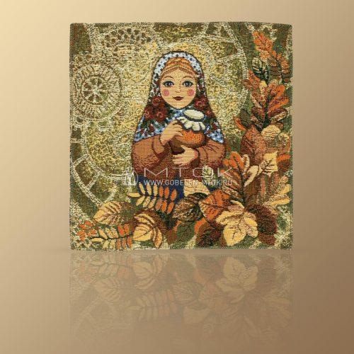 Салфетка из гобелена Матрешка-Осень