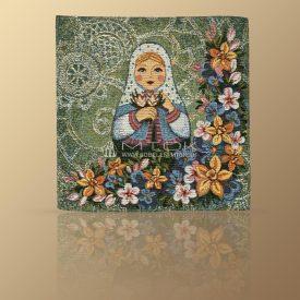 Салфетка из гобелена Матрешка-Весна