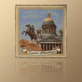 Салфетка из гобелена Петербург (с Петром)