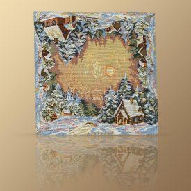 Салфетка из гобелена Зимние узоры