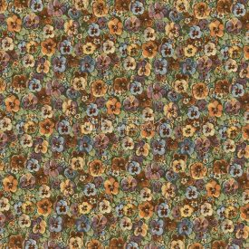 "Ткань жаккардовая ""Садовые цветы"""