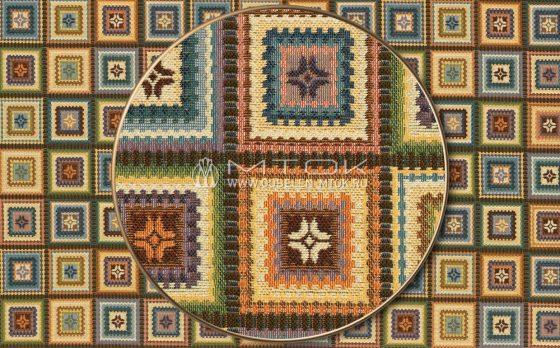 Гобелен, ткань жаккардовая Лабиринт