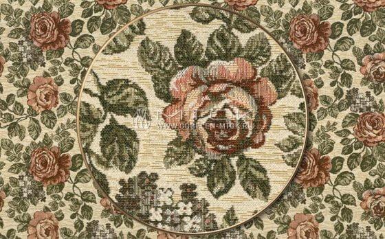 Гобелен, жаккардовая ткань Флористика