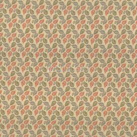 """Ткань жаккардовая """"Вектор листья цветные"""""""