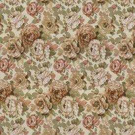 Ткань жаккардовая, гобелен Голландские цветы