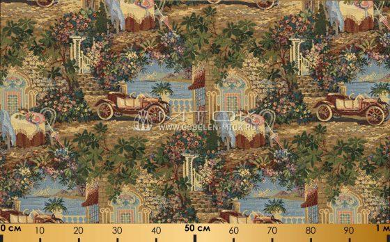 Гобелен, ткань жаккардовая Монте-Карло