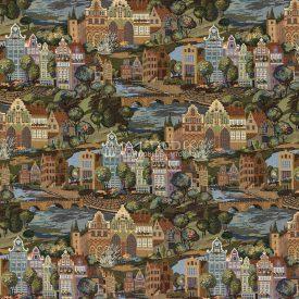 Жаккардовая ткань, гобелен Амстердам
