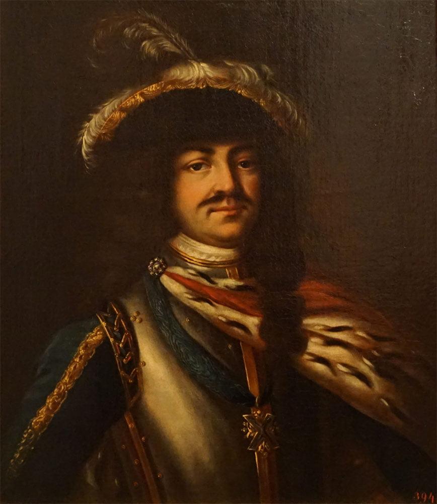 Портрет Петра 1