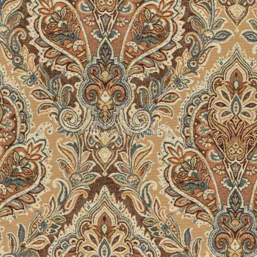 Гобелен, ткань жаккардовая интерьерная Дамаск