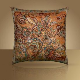 Декоративная наволочка, чехол из гобелена Восточные кружева