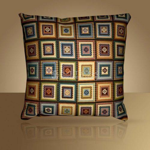 Декоративная наволочка, чехол на подушку Лабиринт